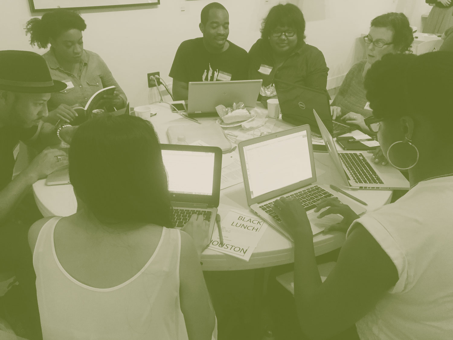 Black Lunch Table: Wikipedia Edit-A-Thon